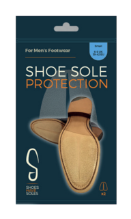 Leather Soles Protectors in Leather - 3 sizes available